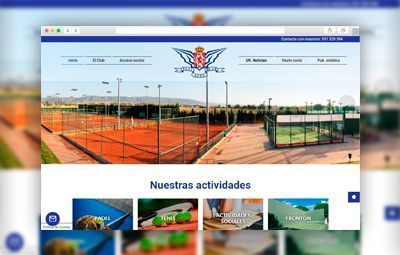Proyectos realizados aeroclub-web