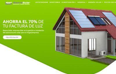Diseño Web web-baena-solar