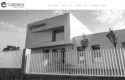 Diseño Web web-cabrera-plastica-estetica