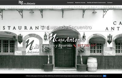 Diseño Web web-casa-antonio