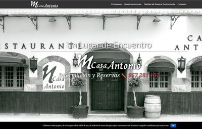 Diseño Web en Córdoba web-casa-antonio