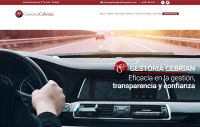 Diseño Web en Córdoba web-gestoria-cebrian
