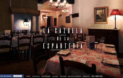 Diseño Web en Córdoba web-la-cazuela-de-la-esparteria