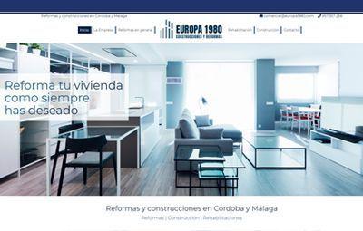 Diseño Web en Córdoba web-reformas-europa