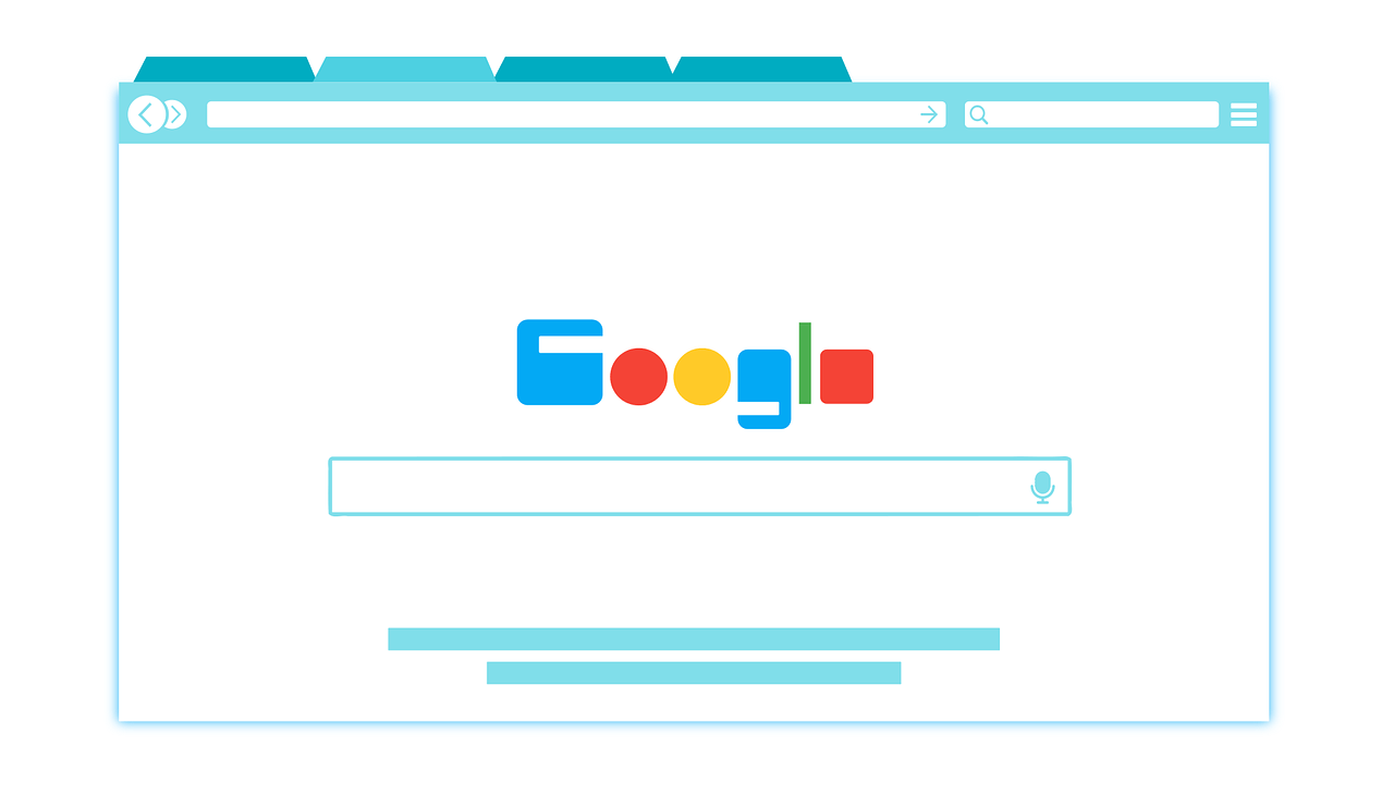 Publicidad en Google browser-1666982_1280